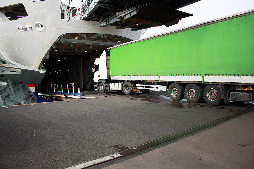 SLC - Stena Lorry Driving Onboard