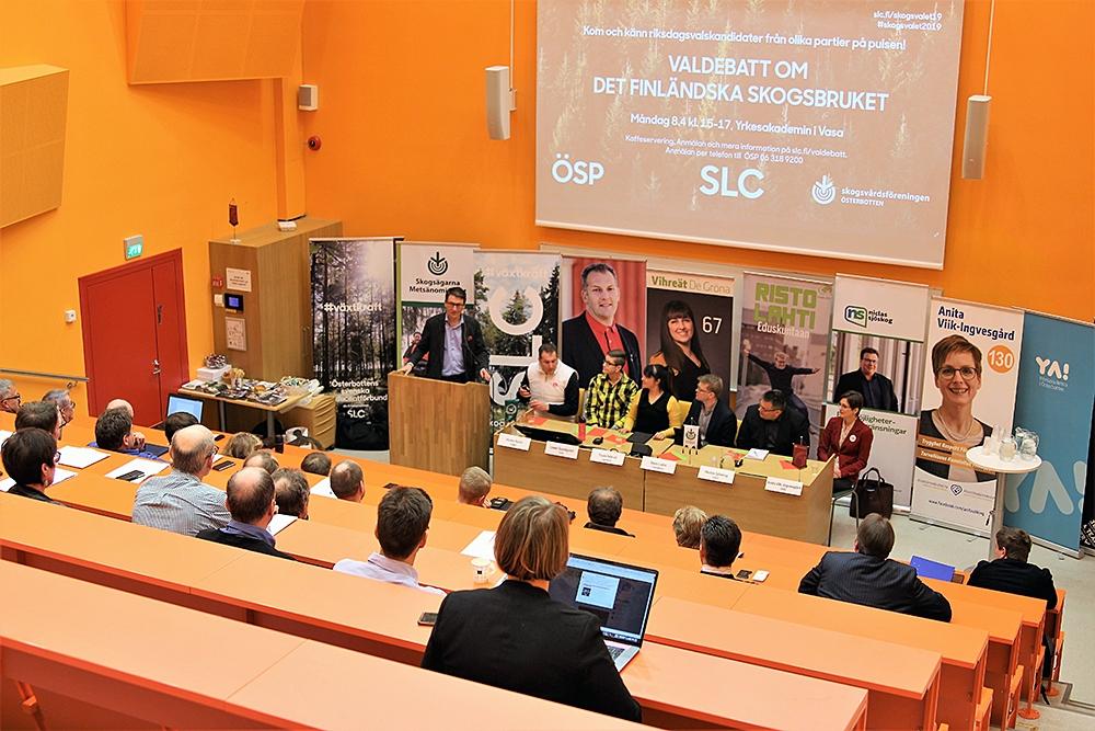 SLC - Skogsvalsdebatt O 1