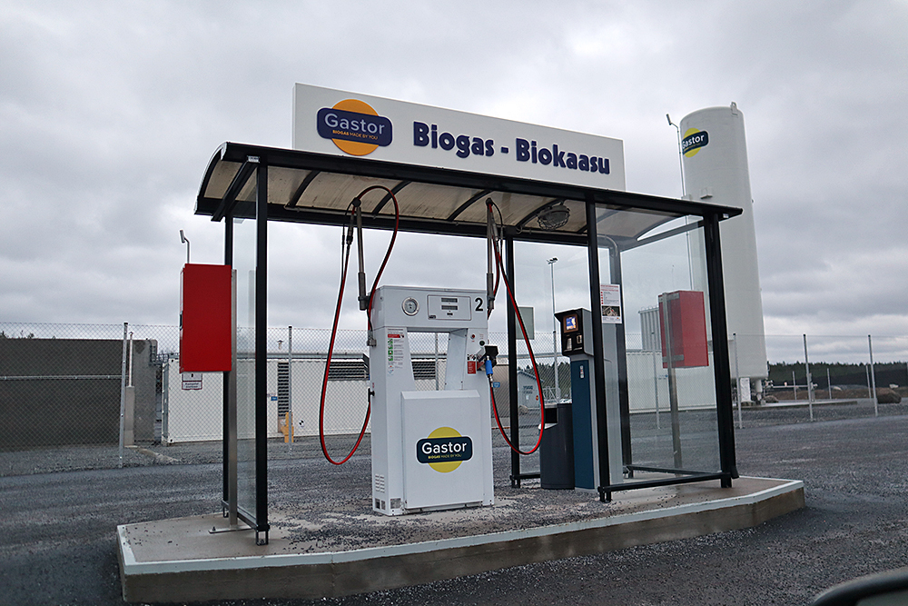 SLC - Biogastank