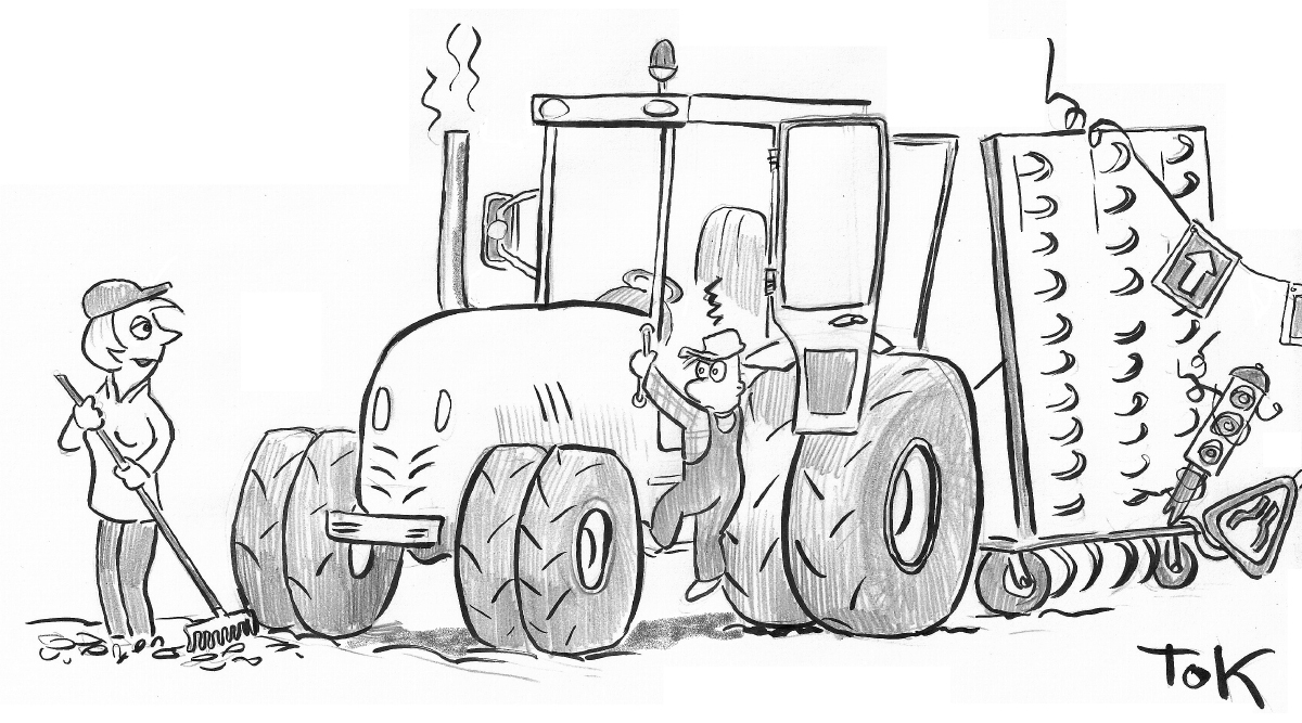 SLC - Bred Traktor